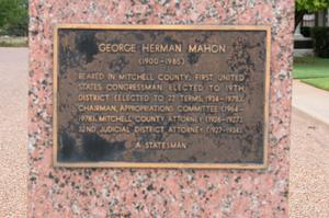 Primary view of object titled '[George Herman Mahon Monument]'.