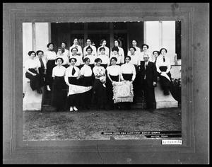 Primary view of object titled 'Women of Simmons Amoma Bible Class'.