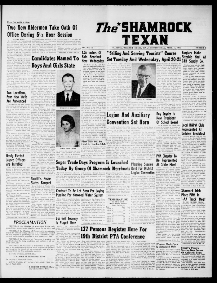 a008e0c8c4 Primary view of object titled  The Shamrock Texan (Shamrock