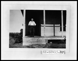 Primary view of object titled 'Old Man on his Porch'.