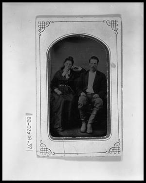 Primary view of object titled 'Portrait of a Couple'.