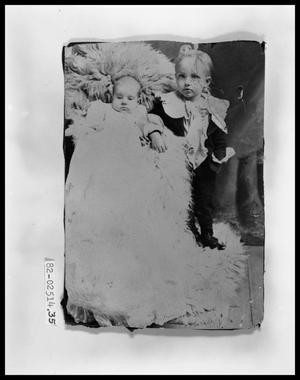 Primary view of object titled 'Young Boy with Baby #1'.