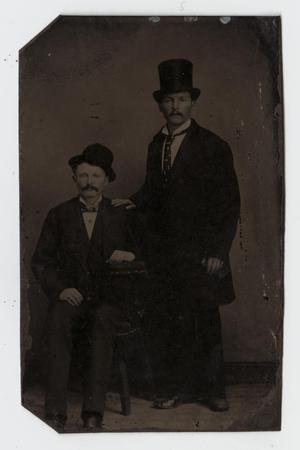 [Tintype Portrait of Two Men]