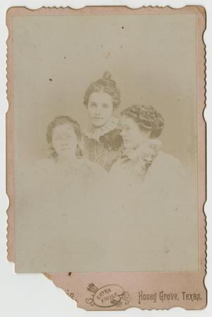 [Portrait of Rayburn Sisters]