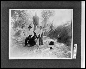 Primary view of object titled 'Boys in Creek Bed'.