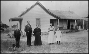 [Photograph of W. L. Hancock Home and Family]