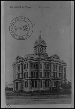 [Photograph of Comanche County Courthouse]