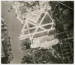 Primary view of object titled '[Aerial View of Carswell Air Force Base]'.