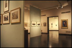 Primary view of object titled 'Irish Watercolors from the National Gallery of Ireland [Photograph DMA_1264-04]'.