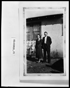 Primary view of object titled 'Couple in Yard'.