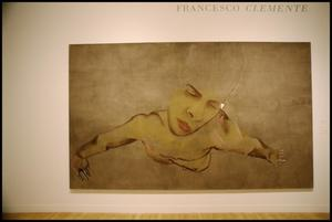 Primary view of object titled 'Francesco Clemente [Photograph DMA_1383-01]'.