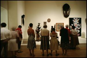 Primary view of object titled 'Primitivism in 20th Century Art: Affinity of the Tribal and the Modern [Photograph DMA_1371-006]'.