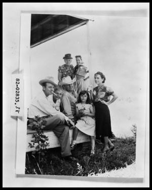 Primary view of object titled 'Family on Picnic'.
