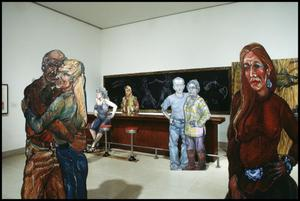 Primary view of object titled 'Luis Jimenez: Working Class Heroes, Images from the Popular Culture [Photograph DMA_1540-23]'.