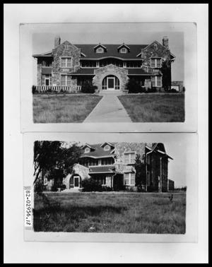 Primary view of object titled 'Exterior Ranch House; Exterior Ranch House'.