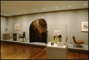 Primary view of object titled 'Dallas Museum of Art Installation: American Decorative Arts [Photograph DMA_90010-27]'.