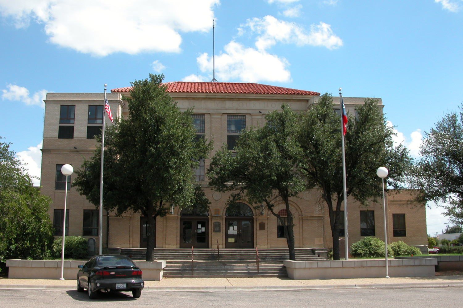 Reeves County Courthouse, Pecos                                                                                                      [Sequence #]: 1 of 1