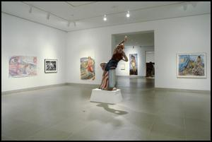 Primary view of object titled 'Luis Jimenez: Working Class Heroes, Images from the Popular Culture [Photograph DMA_1540-21]'.