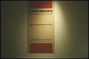 Primary view of object titled 'Counterparts: Form and Emotion in Photographs [Photograph DMA_1313-01]'.