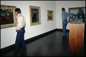 Primary view of object titled 'Dallas Museum of Fine Arts Installation: Impressionist Gallery [Photograph DMA_90001-17]'.