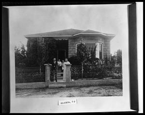 Primary view of object titled 'House Exterior'.