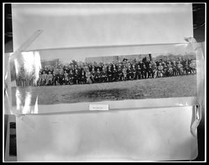 Primary view of object titled 'Group Photo of Medical Staff'.