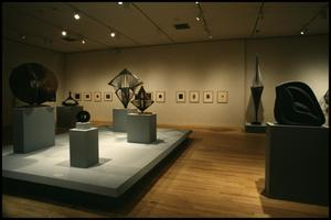 Primary view of object titled 'Naum Gabo: Sixty Years of Constructivism [Photograph DMA_1374-11]'.