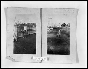 Primary view of object titled 'Child in Yard; Child in Yard'.