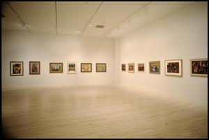 Primary view of object titled 'Jacob Lawrence, American Painter [Photograph DMA_1403-23]'.