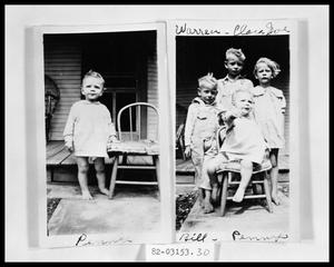 Primary view of object titled 'Portrait of Children'.