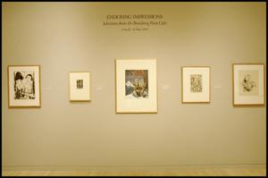 Primary view of object titled 'Enduring Impressions: Selections from the Bromberg Print Gifts [Photograph DMA_1459-01]'.
