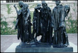 Primary view of object titled 'Rodin's Monument to the Burghers of Calais [Photograph DMA_1404-05]'.