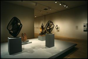 Primary view of object titled 'Naum Gabo: Sixty Years of Constructivism [Photograph DMA_1374-08]'.