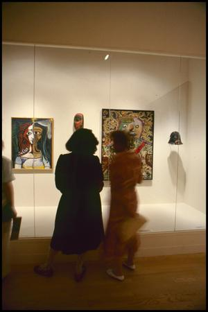 Primary view of object titled 'Primitivism in 20th Century Art: Affinity of the Tribal and the Modern [Photograph DMA_1371-094]'.