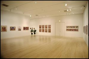 Primary view of object titled 'Jacob Lawrence, American Painter [Photograph DMA_1403-33]'.