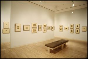 Primary view of object titled 'Drawing Near: Whistler Etchings from the Zelman Collection [Photograph DMA_1370-15]'.
