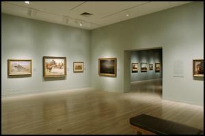 Primary view of object titled 'The American West: Legendary Artists of the Frontier [Photograph DMA_1498-04]'.