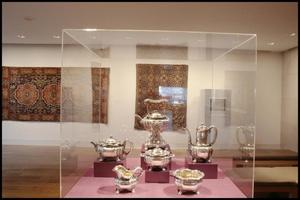 Primary view of object titled 'Dallas Museum of Art Installation: American Decorative Arts [Photograph DMA_90010-21]'.
