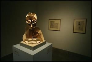 Primary view of object titled 'Naum Gabo: Sixty Years of Constructivism [Photograph DMA_1374-01]'.