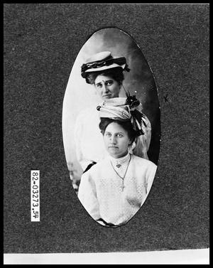 Primary view of object titled 'Portrait of Women'.