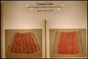 Primary view of object titled 'Coastal Color: Textiles from Guatemala's Pacific Foothills [Photograph DMA_1399-02]'.