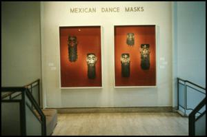 Mexican Dance Masks [Photograph DMA_1314-01]