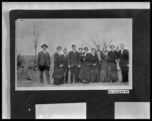Primary view of object titled 'Group Outdoors'.