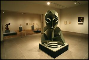 Primary view of object titled 'Naum Gabo: Sixty Years of Constructivism [Photograph DMA_1374-05]'.