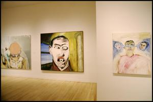 Primary view of object titled 'Francesco Clemente [Photograph DMA_1383-07]'.