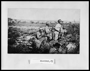 Primary view of object titled 'Soldiers on Firing Line'.