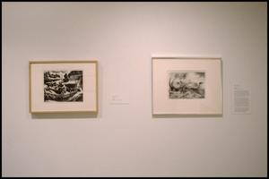 Primary view of object titled 'Thomas Hart Benton: Prints, Letters, and Photographs [Photograph DMA_1536-13]'.