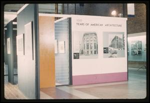 Primary view of object titled '100 Years of American Architecture [Photograph DMA_1053-02]'.