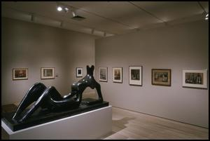 Primary view of object titled 'Henry Moore, Sculpting the 20th Century [Photograph DMA_1606-28]'.