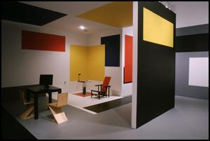 Primary view of object titled 'Mondrian: The Transatlantic Paintings; Dallas Collects; Color in Space; America Responds [Photograph DMA_1615-13]'.